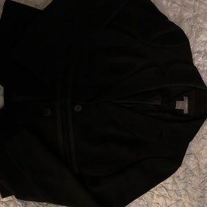 Ann Taylor 0P embellished Black Suit Jacket